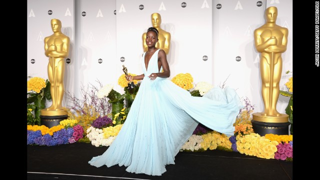 "<strong>Best:</strong> During awards season, Lupita Nyong'o won moviegoers' hearts, dazzled on the red carpet and took home a bunch of acting awards, including the best supporting actress Oscar for ""12 Years a Slave."" The gifted actress was also People magazine's ""Most Beautiful"" person, plus she's been cast in ""Star Wars: Episode VII."" Nyong'o's only worry may be that no other year can compare with 2014."
