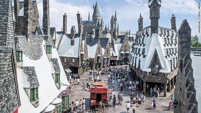The Wizarding World of Harry Potter cost Osaka-based Universal Studios Japan 45 billion yen ($442.2 million) to construct. Universal hopes the attraction will earn the park 5.6 trillion yen over 10 years.