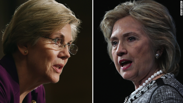 Here we go: Warren vs. Clinton