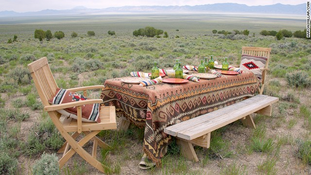 Picnics on the grasslands are a highlight of the resort.