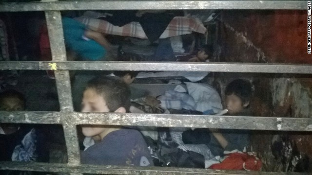 Hundreds of Children Found at Vermin-Infested Shelter in Mexico