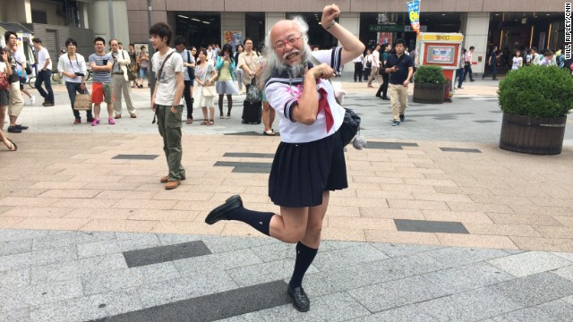 Gallery: \'Sailor suit old man\'