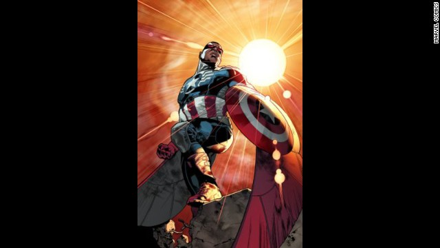 Sam Wilson, aka The Falcon, will be Marvel's new Captain America.