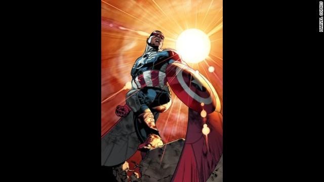 Primero fue la mujer Thor; ahora Marvel presenta un Capitán América negro