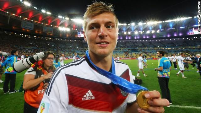 El alemán campeón del mundo Toni Kroos llega al Real Madrid