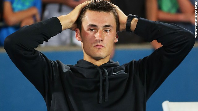 The world's most famous tennis agency ended its partnership with controversial Australian Bernard Tomic.
