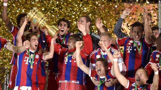Bayern Munich will be seeking a third consecutive German Bundesliga title, after last season's success came in record time.