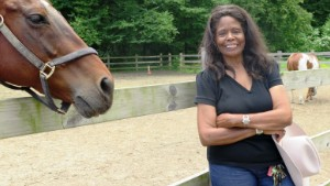 Patricia Kelly is an equestrian and former U.S. Marine.