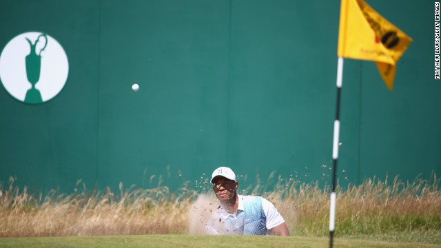 And on the back nine, Woods quickly moved to one under after two birdies.
