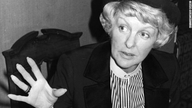 Broadway legend <a href='http://www.cnn.com/2014/07/17/showbiz/obit-actress-elaine-stritch/index.html' target='_blank'>Elaine Stritch</a> has died. According to her longtime friend Julie Keyes, Stritch died at her home in Birmingham, Michigan, early on Thursday July 17, surrounded by her family. She was 89 years old.