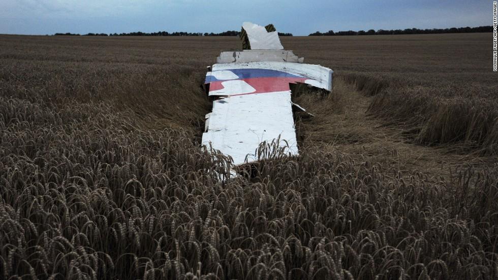 El MH17 de Malaysia Airlines cae en Ucrania
