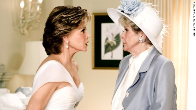"Stritch played Jane Fonda's mother-in-law in 2005's ""Monster-in-Law."" Fonda plays Jennifer Lopez's mother-in-law."