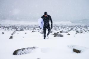 Increíbles fotos de surfistas extremos