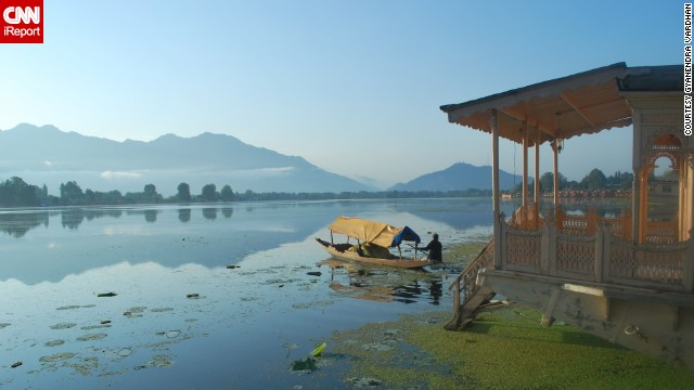 Srinagar is considered the summer capital of Kashmir in India. The region is a popular tourist destination and is known for its gorgeous lakes, historic gardens and beautiful houseboats.