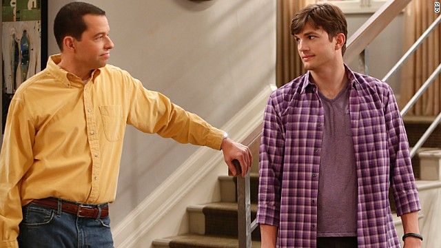 Jon Cryer and Ashton Kutcher star on CBS' long-running sitcom,