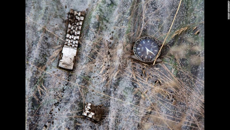 Los objetos de las víctimas del MH17