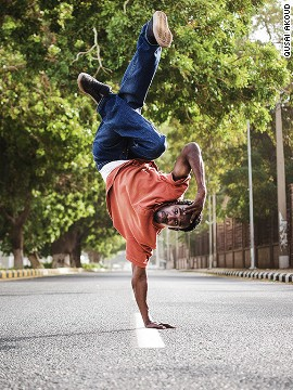 "<i>""Since I was a toddler, I was so hyperactive and always anxious,"" </i>said Jailani, a natural born break-dancer ..<i>. ""Break dancing is essential to me like air is to my lungs.""</i>"
