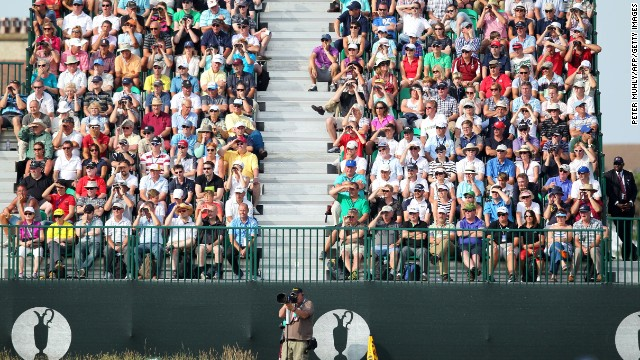 Open organizers, the R&A, estimate attendances for 2014 will reach 200,000.