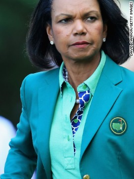 Not all golf clubs are as relaxed as Hoylake. It wasn't until 2012 that Augusta National Golf Club admitted women. Former Secretary of State Condoleezza Rice and business executive Darla Moore were the first female members of Augusta.