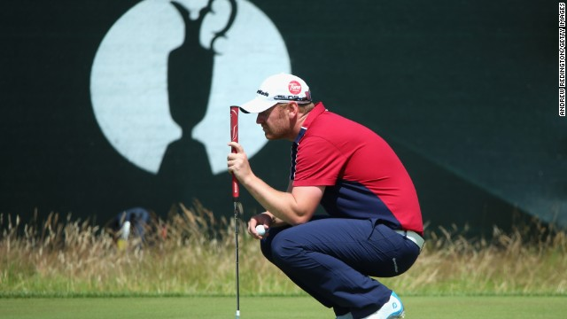 Amateur golfer and Ellesmore Port forklift truck driver, John Singleton, was given time off from his day job to compete at the British Open.
