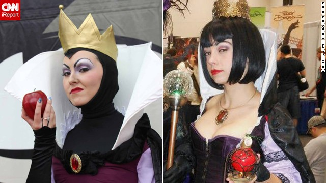 "The poison apple is a must if you are cosplaying as the evil queen from ""Snow White and the Seven Dwarfs."" Which of these is your favorite from 2012?"