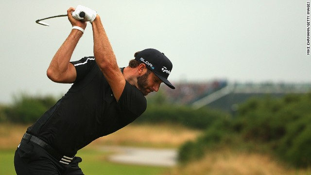 Like Garcia, Dustin Johnson could be ready to capitalize if McIlroy falters on Sunday. The powerful American is tied for third with the Spaniard on nine-under par.