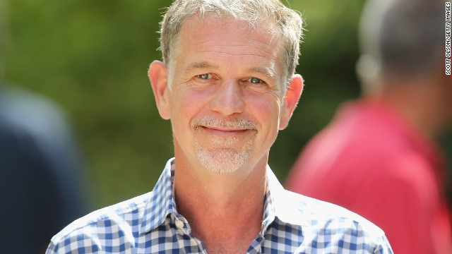 "Reed Hastings, pictured, and Marc Rudolph, two software engineers, founded Netflix in 1997 to use the Internet to rent movies on DVD, then a new format. (An <a href='http://www.fool.com/investing/general/2012/11/12/9-fascinating-things-about-reed-hastings-and-netfl.aspx' target='_blank'>old, discredited story</a> claims that Hastings had the idea after Blockbuster charged him a $40 late fee for ""Apollo 13."") Rudolph left in 2002."