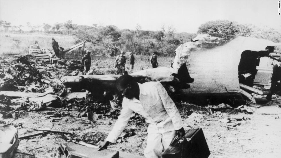Historia de aviones derribados