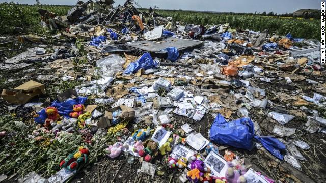 La zona de los restos del MH17, un desafío para esclarecer lo que ocurrió