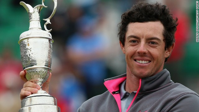 McIlroy is just one major away from completing a career grand slam after winning the British Open.