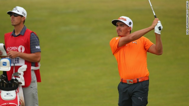 Rickie Fowler was never able to mount a significant challenge to playing partner McIlroy but finished strongly for joint second.