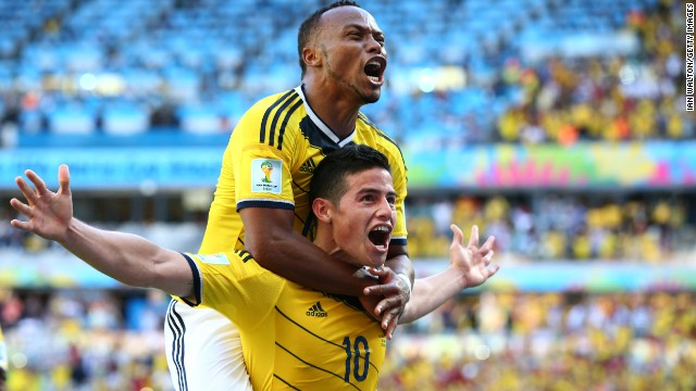 His reported $121 million move to Spain makes Rodriguez the most expensive Colombian player in history.