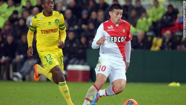 Moutinho and Rodriguez helped Monaco qualify for this season's European Champions League, finishing second in France behind Paris Saint-Germain.