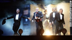 Monty Python emerges for a last show at London\'s O2 Arena.