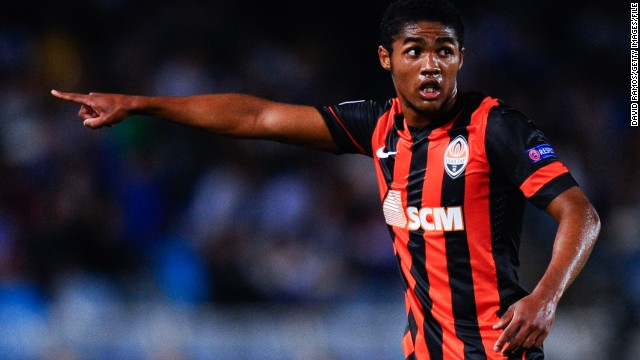 Brazilian Douglas Costa is one of six footballers refusing to return to Ukraine.