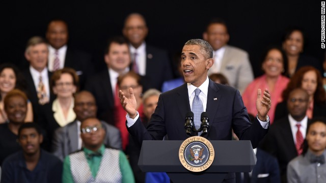 Obama offers rules for success as he expands program for young minority men