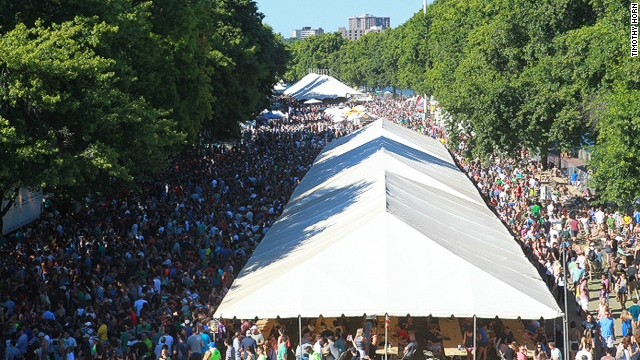 <strong>1:</strong> The OBF is the top-ranked outdoor beer festival in North American in terms of attendance.