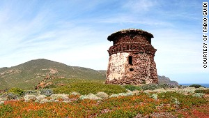 Zenobito Tower, Capraia Island.