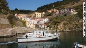 Gorgona Island, Italy.