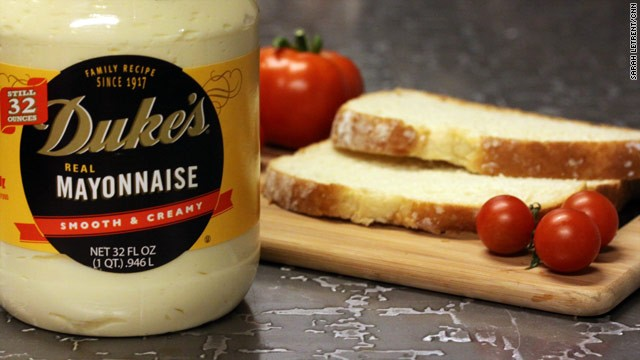 Mayonnaise, tomatoes and store-bought white bread. The beauty is in its simplicity.
