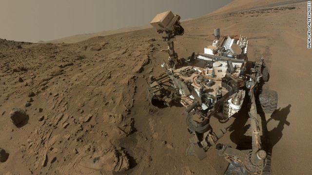 Even the robots are getting in on selfie fever!<a href='http://www.nasa.gov/press/2014/june/nasa-s-mars-curiosity-rover-marks-first-martian-year-with-mission-successes/#.U80-R_ldV8F' target='_blank'> NASA released a self-portrait taken by the Curiosity rover on June 24</a> 2012 to commemorate being on the Red Planet for a full Martian year (687 Earth days). While this intricate selfie looks fab, the exploration rover hasn't always taken the best shots ...