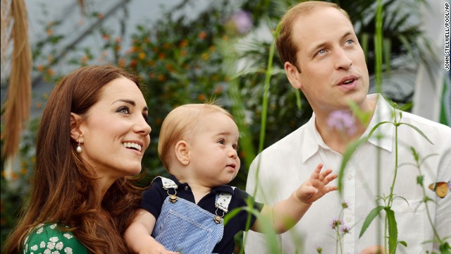 Prince George\'s first year in pictures