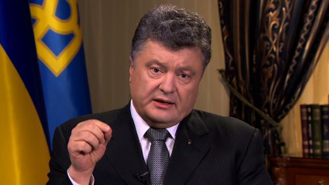 """Poroshenko: """"No veo diferencia entre ataques del 11 de septiembre y ataque al vuelo MH17"""""""