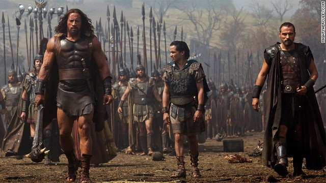 "Dwayne ""The Rock"" Johnson is ""Hercules"" this summer, but he's been pretty busy lately, starring in no less than five films in 2013. For his hard work, Forbes estimates the wrestler-turned-actor earned around $52 million."