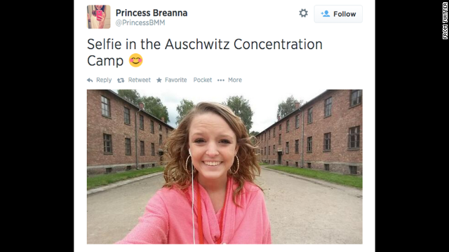 Smiling for 'Auschwitz selfies,' and crying into the digital wilderness