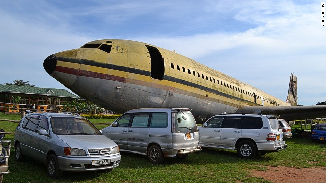 "Contrary to local legend, the rusting Boeing 707 on the grounds of Aero Beach Club is not the famous ""Raid on Entebbe"" plane. Air France reclaimed the hijacked aircraft months after the 1975 Israeli hostage rescue operation. The beach plane once flew for British Airtours but was abandoned at Entebbe Airport in the 1980s."
