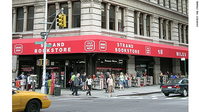 "Strand on Broadway is the only survivor of Manhattan's old ""Book Row"" -- a now-extinct district of bookstores."