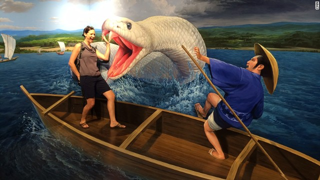 Toei's Trick Art Museum is filled with quirky 3D anamorphic art and props that make for a perfectly Instagrammable experience. Traveling solo? A staff member will accompany you through the museum as you strike awkward, unconvincing poses, as the author does here.