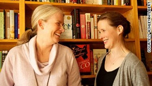 Parnassus Books owners Karen Hayes (left) and Ann Patchett.