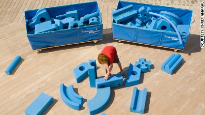 Playgrounds built for kids by kids